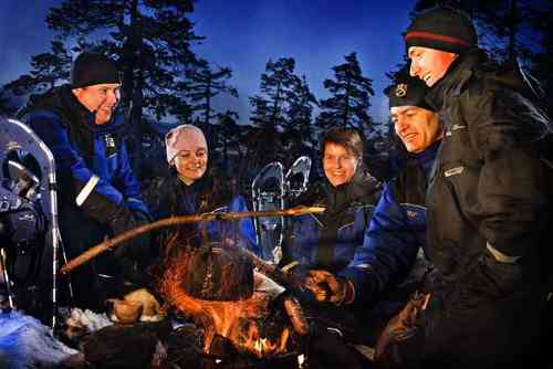 ARKTIS OUTDOOR-CAMP LAPPLANDS
