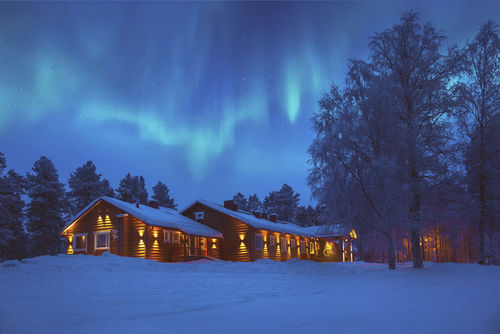 LUXUS-LODGE UND LAPPLAND-HIGHLIGHTS